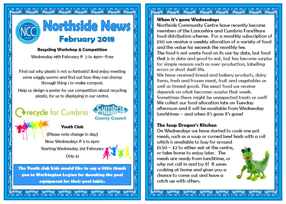 February Newsletter 2018